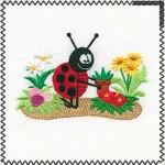 potting ladybug