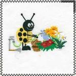 watering ladybug
