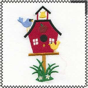 school birdhouse