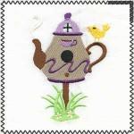 tea birdhouse